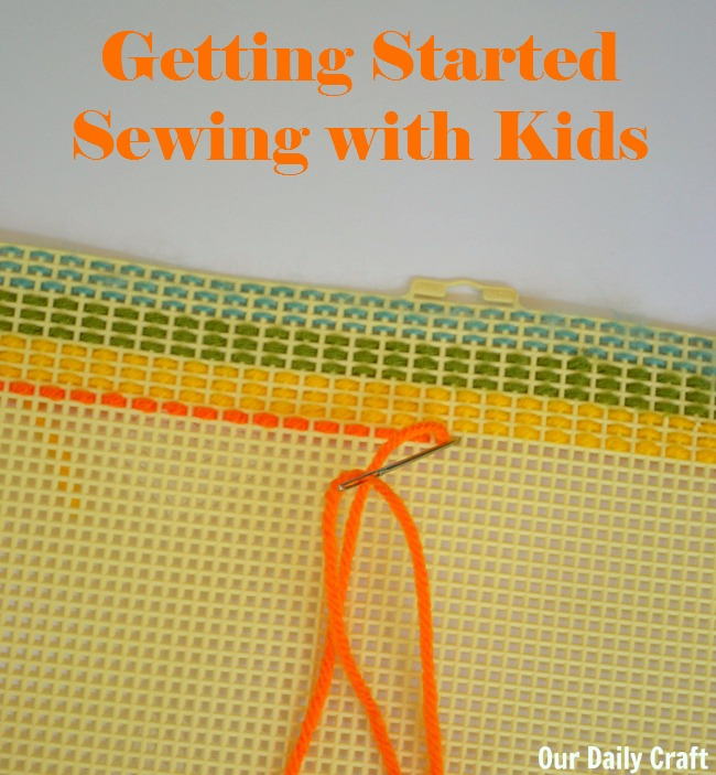 Sewing with Kids: Getting Started