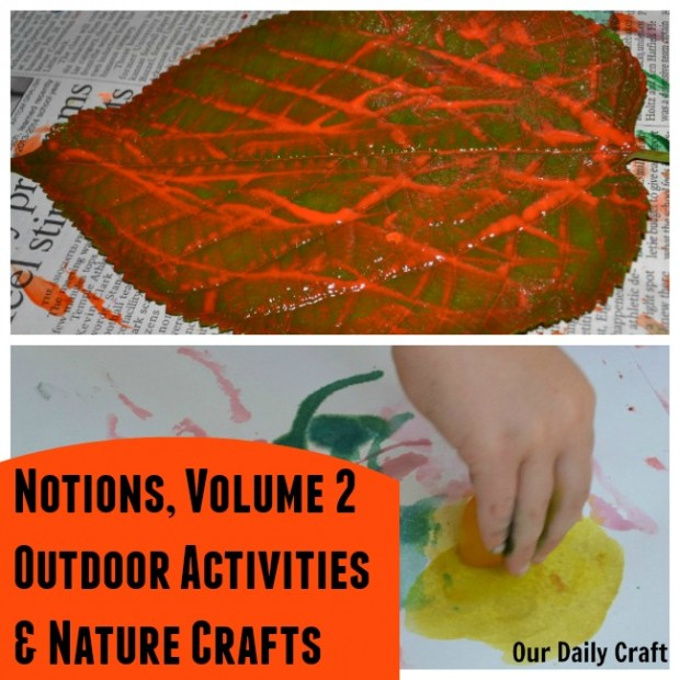 Check out this great roundup of outdoor activites and nature crafts for kids.