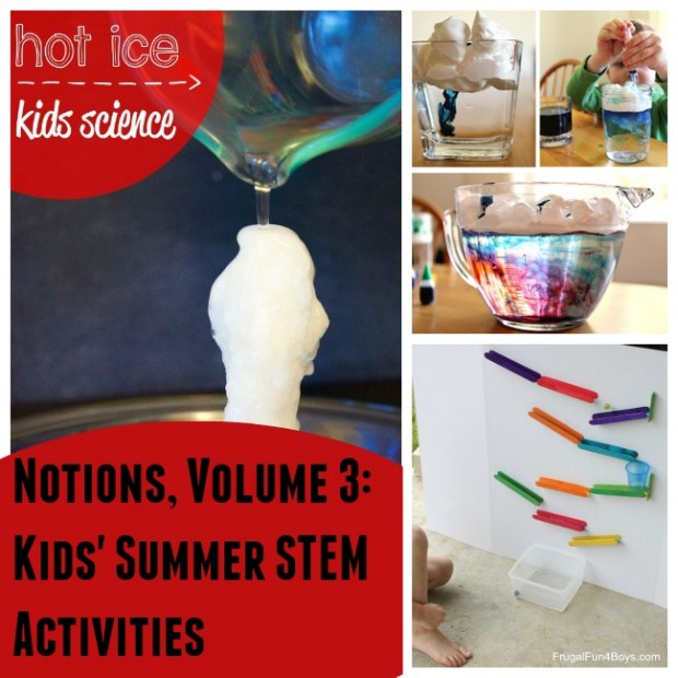 Check out this great roundup of STEM activities for kids, for summer and beyond.
