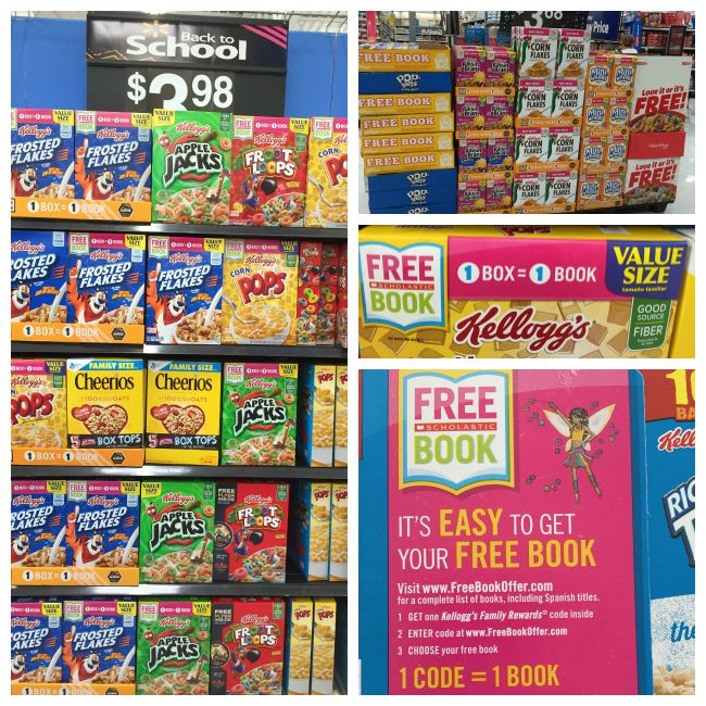 kellogg's boxes at walmart