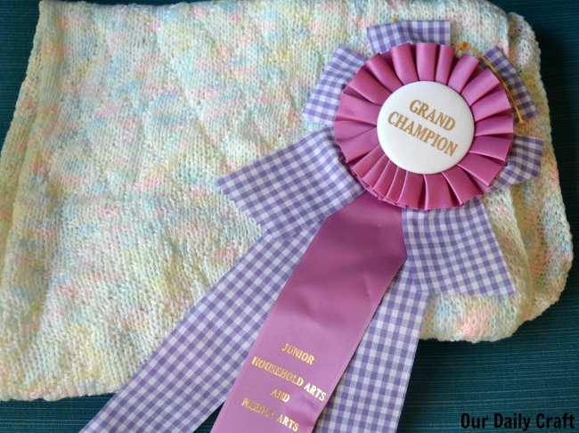 my grand champion ribbon