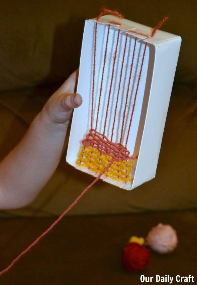 box weaving kids