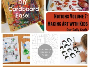 ideas for making art with kids