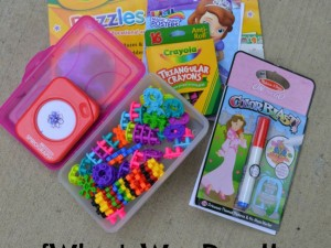What toys and games do you really need when traveling with kids? Here's what helped keep our five-year-old entertained.