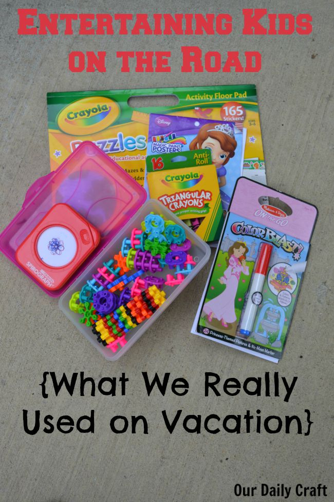 Entertaining Kids while Traveling: What We Really Used