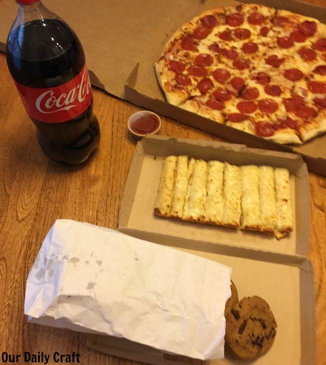 pizza family deal sams