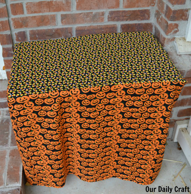 custom halloween tablecloth