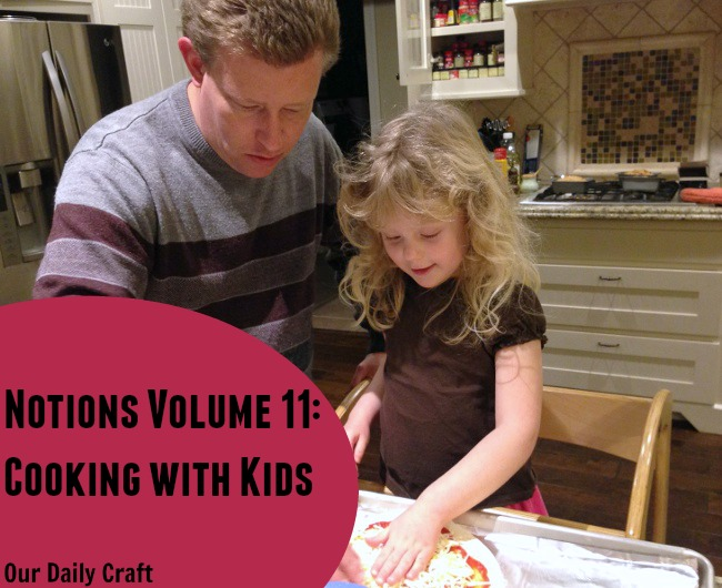 how do you cook iwth your kids and preserve cooking memories?