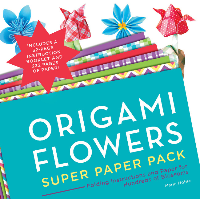origami flowers super paper pack
