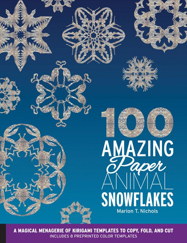 100 amazing animal snowflakes