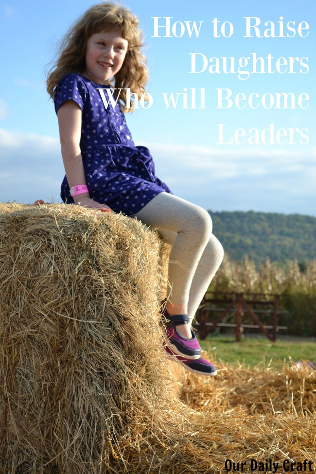 how do we raise girls to become leaders?