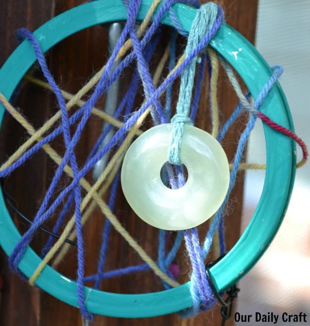 center bead dreamcatcher