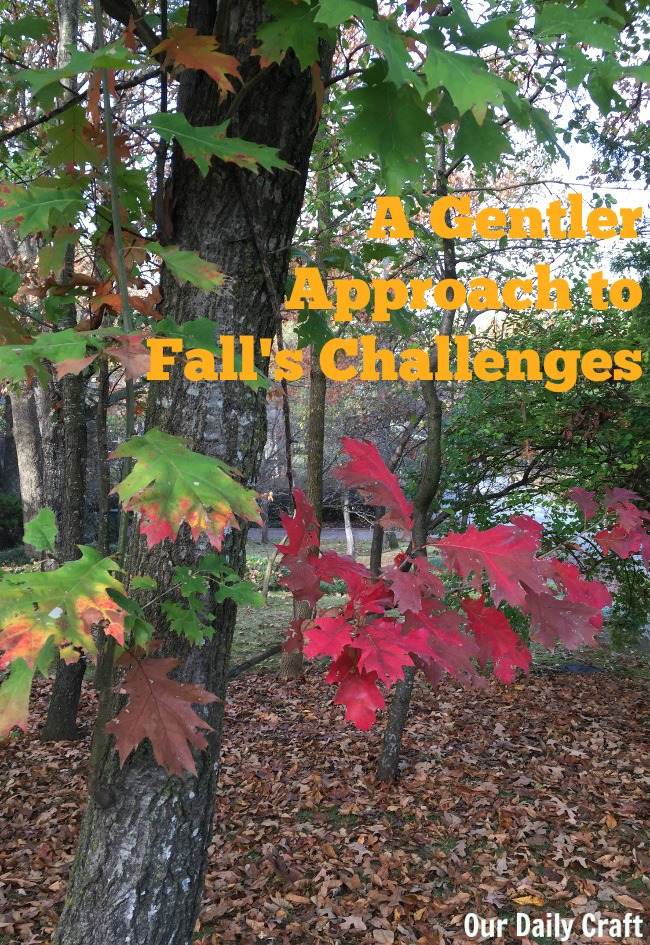 the challenges of fall can be too much for some. Here's what to try if blogging every day doesn't sound fun to you.