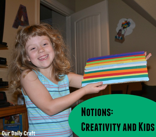 Creativity is a vital skill for our kids to have. How do you foster it in yours?