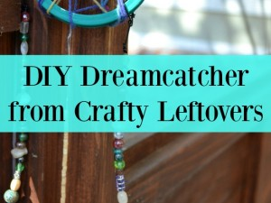 Make a beautiful DIY dreamcatcher from your crafty leftovers