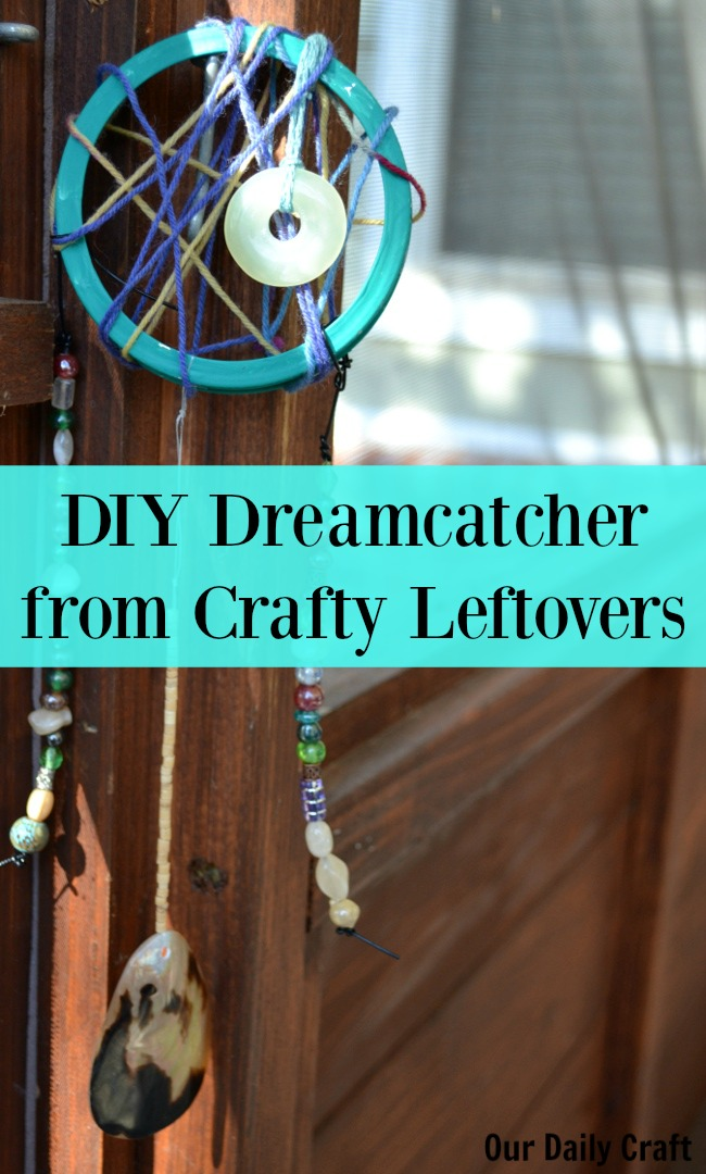 Make a DIY Dreamcatcher Out of Crafty Leftovers