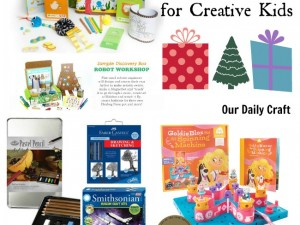 have a creative kid in your life? Here are some fun gift ideas to consider.