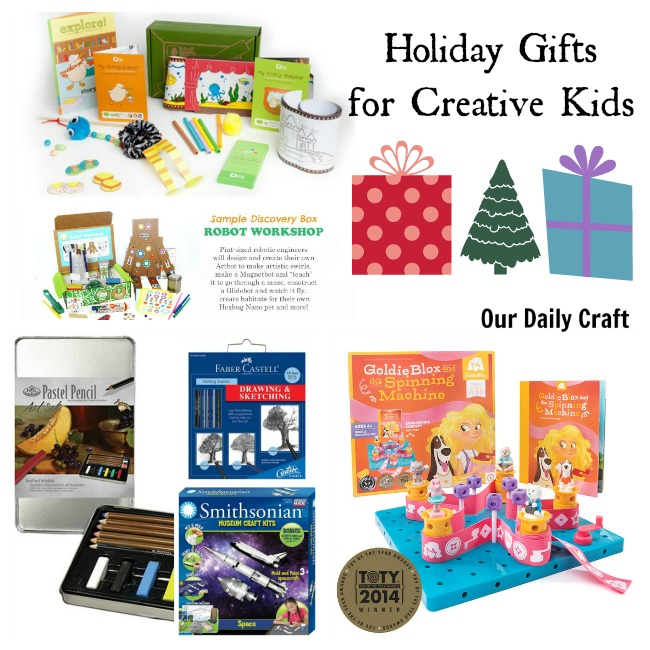 Great Gift Ideas for Creative Kids
