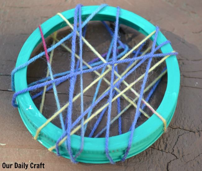 Make A DIY Dreamcatcher Out Of Crafty Leftovers Our Daily Craft Beauteous Dream Catcher Jar