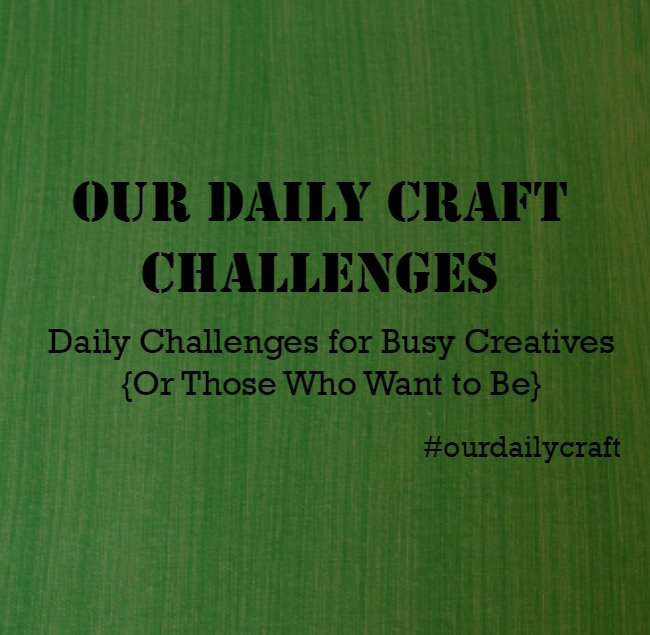 A Craft Challenge for the New Year