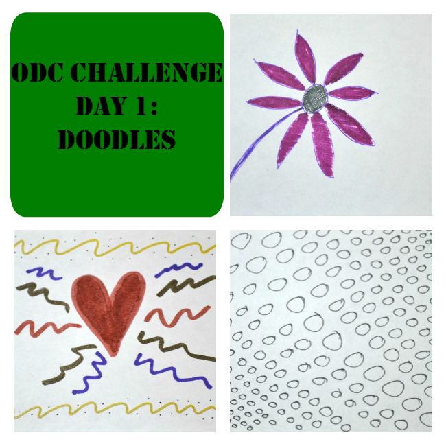 Our Daily Craft Challenge 1: Doodles