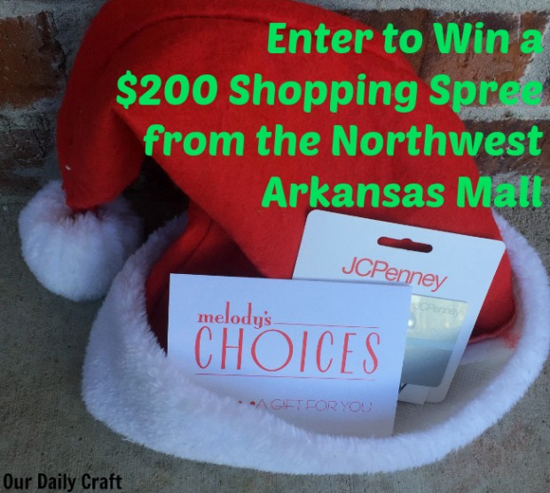 win $200 from the northwest arkansas mall