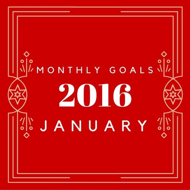 Join the monthly goals linkup and get more done in 2016!