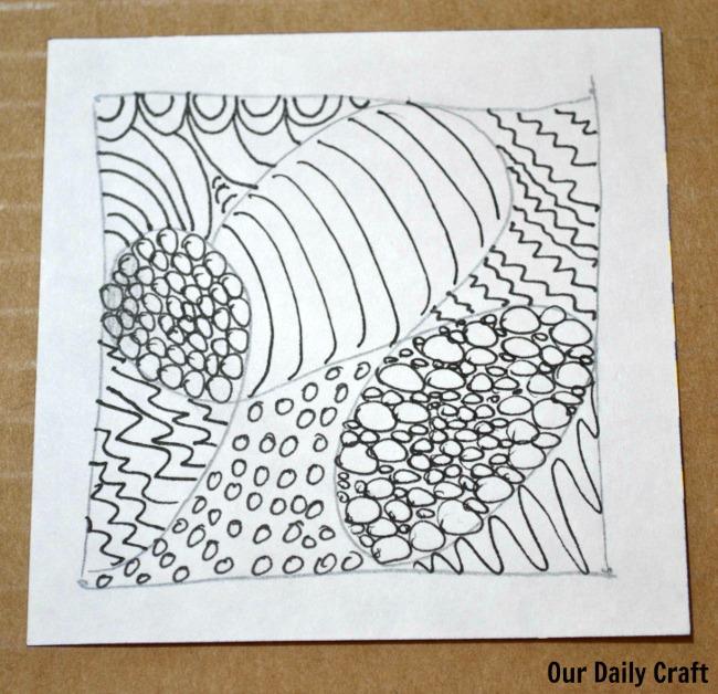 zentangle practice