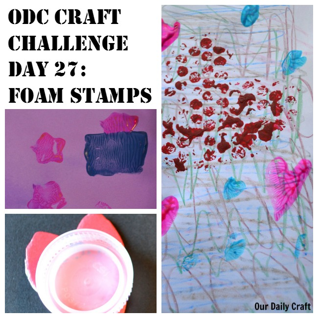 Make Stamps with Foam Sheets