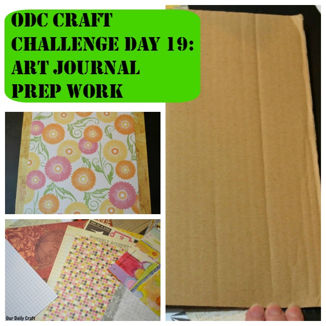 Get started gathering materials to make an art journal