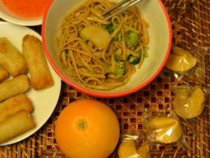 Make simple stir fried noodles using ingredients your kids already like.