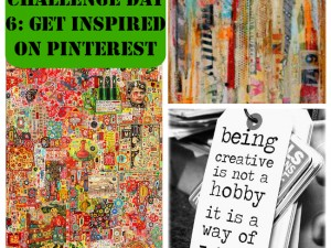 Do you use Pinterest deliberately to get inspired? Try it!