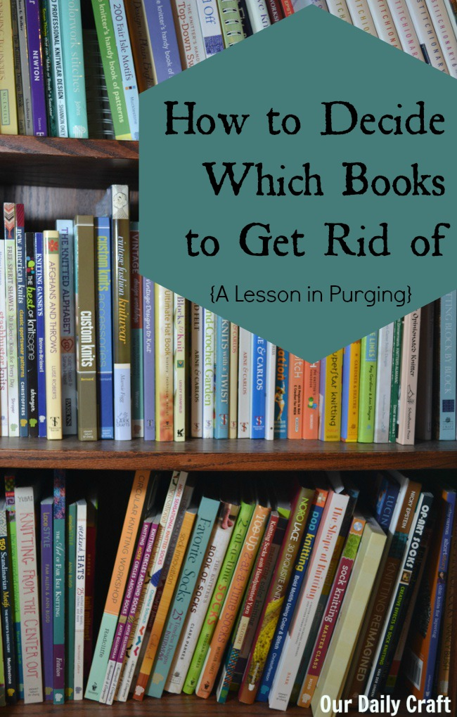 how to get rid of books easily