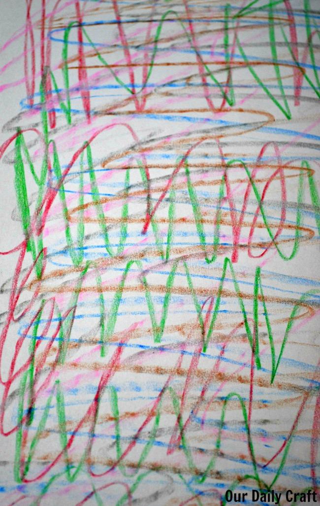 random lines scribble