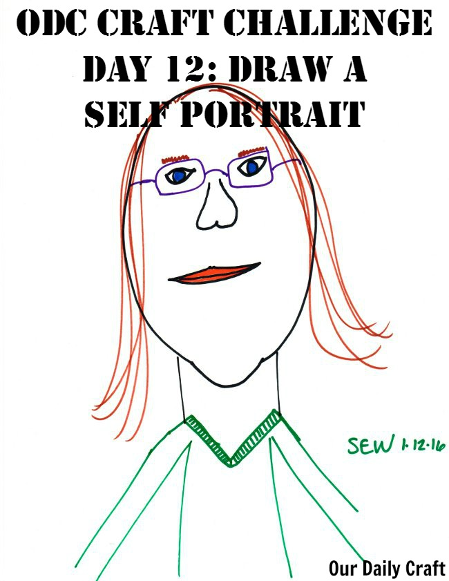Draw a Self Portrait