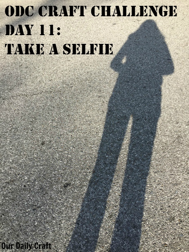 Can selfies be creative? I think so!
