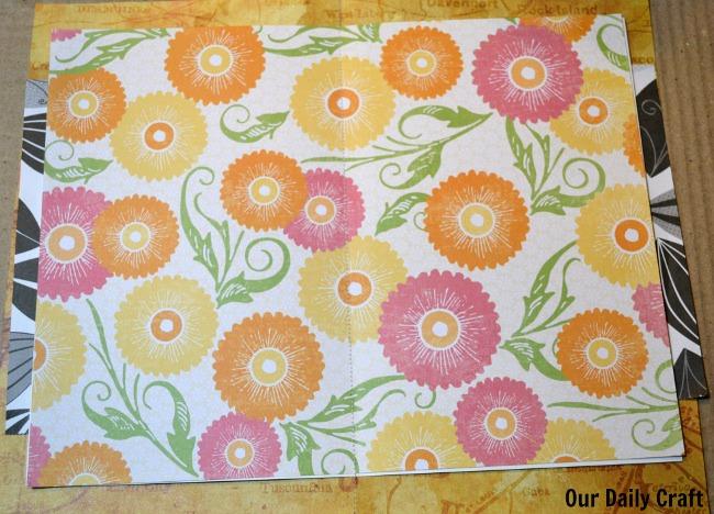 sewn signature homemade book
