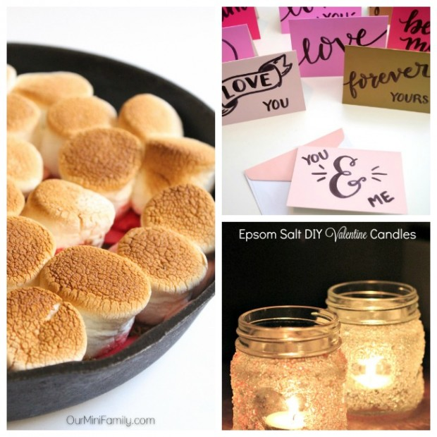 Easy Valentine's crafts and recipes