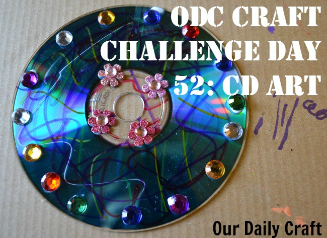 make art with an old CD