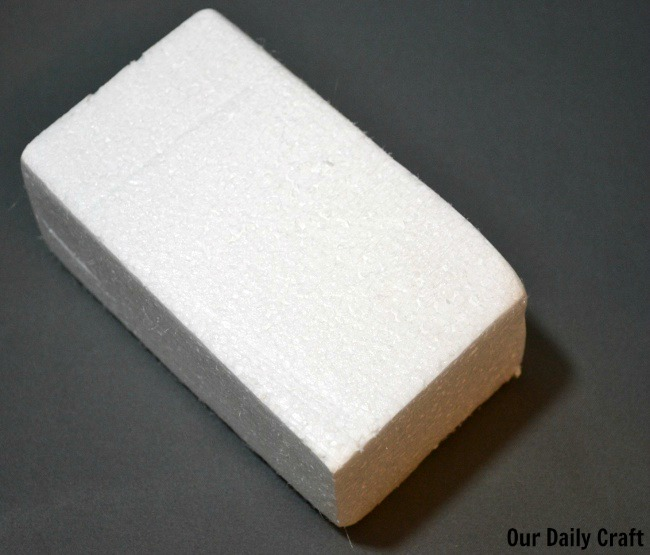 foam block for styrofoam printing