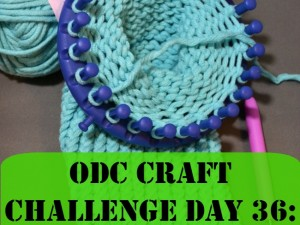 Do some loom knitting or try your regular craft in a different way.