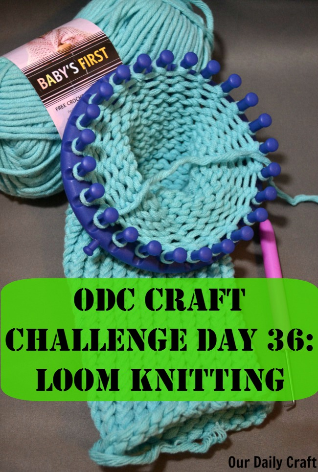 Loom Knitting For Kids : Try loom knitting our daily craft