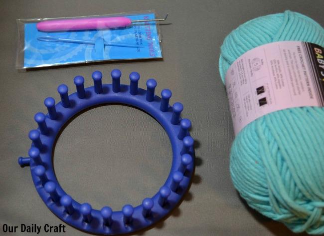 loom knitting supplies