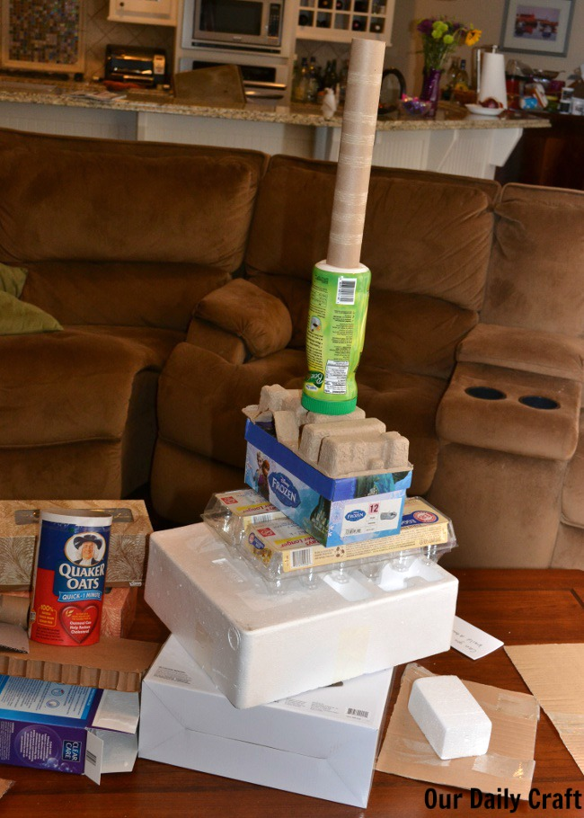 my trash tower challenge entry