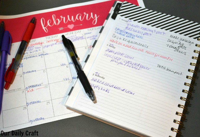 Monthly Goals: Having a Plan