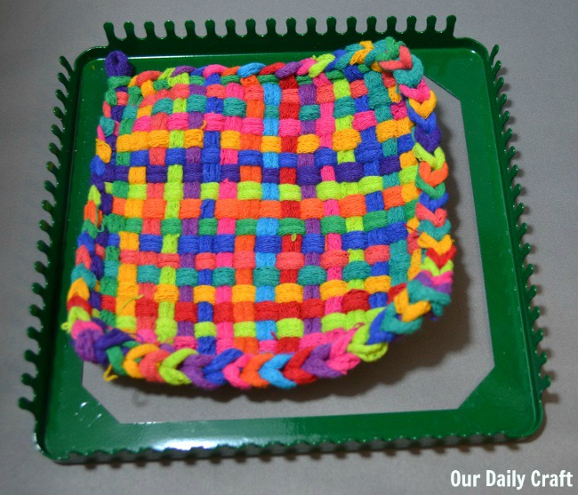 potholder off loom
