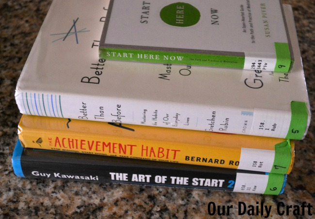 library books on habits