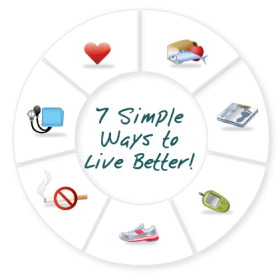 simple 7 heart healthy steps