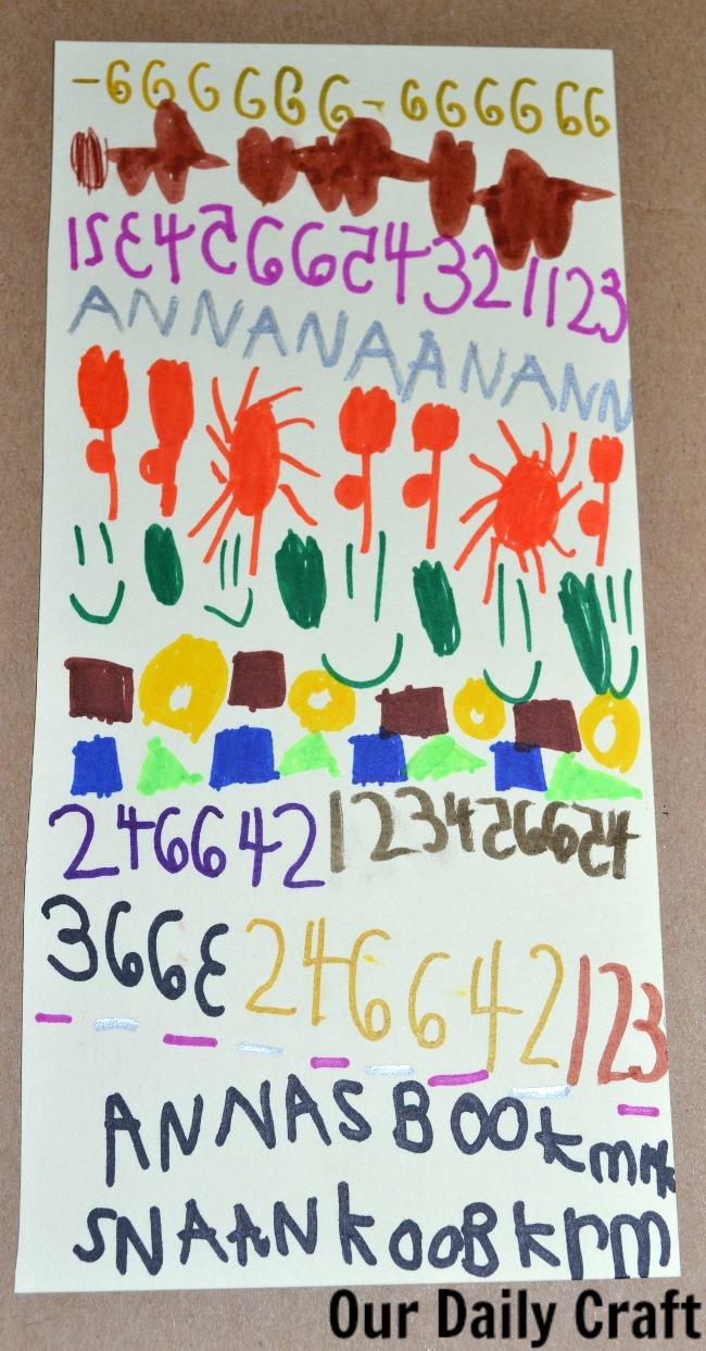 anna's pattern bookmark
