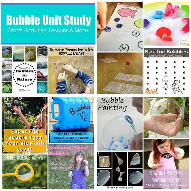 Resources and ideas for studying bubbles